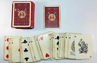 Vintage Deck of Clan Tartan Playing Cards Chas.Goodall & Son Ltd