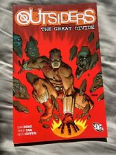 OUTSIDERS: THE GREAT DIVIDE (oop tpb) Dan DiDio * Philip Tan * Keith Giffen