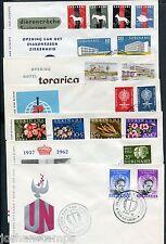 Suriname FDC jaargang 1962 compleet