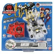 TURNING MECARD W Bucky Transformer CAR Robot/Korean Animation Plastic Model Toy