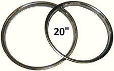 "20"" BBS WHEEL TRIM - STAINLESS STEEL - FITS JAGUAR - PORSCHE - VW - MADE IN UK"