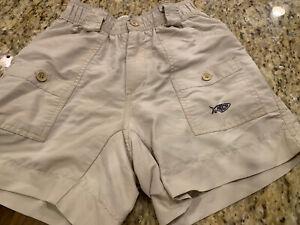 Boys Khaki/tan Aftco Shorts Size 26