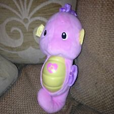 Fisher Price Ocean Wonders Pink Electronic Musical Seahorse Soothe Glow in Dark