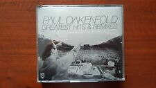 Paul Oakenfold ‎– Greatest Hits & Remixes CD UK NEWCDX9020 Mint Madonna U2 Skunk