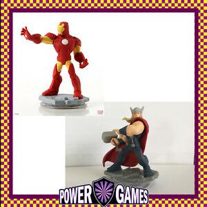 Disney Infinity 2.0 Avengers Iron Man & Thor Brand New