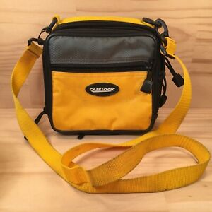 """CASE LOGIC """"Yellow Grey"""" Awesome Little Camera Bag Protective Device Carry Case"""