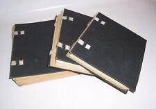 3 Handschriftliche Libri Jura Rechtswissenschaften Studienarbeit 1899