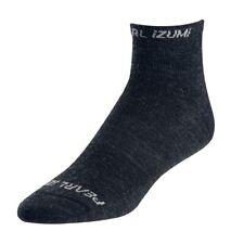PEARL iZUMi Elite Low Wool Cycling Sock Black Medium