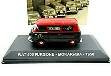 FIAT 600 VAN MOKARABIA (FURGONE) YEAR 1958 ALTAYA SCALE 1:43 DIECAST VAN MODEL