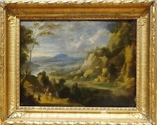 Fine 16th Century Flemish Old Master Landscape Mountains Joos De MOMPER Painting