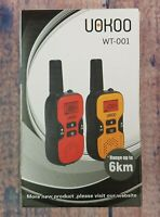 UOKOO Walkie Talkies for Kids 22 Channel FRS GMRS Two Way Radio up to 6km