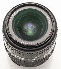 Nikon AF Nikkor 28-70mm 28-70 mm 1:3.5-4.5 3.5-4.5 D analog digital