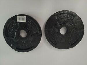 2 New  2.5 Lbs Golds Gym Barbell Plate Weights