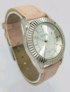 French Connection Time Ladies Quartz Watch - Pink Strap - FC04AV FCUK A9