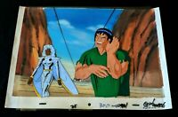 STORM  X-Men The Animated Series Production Hand Painted Cel & Background #TT