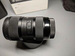 Sigma ART 18-35mm F1.8 DC HSM Lens Canon EF Mount excellent condition