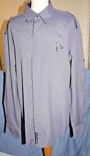 Men's shirt, HENLEYS, size 5, UK XL, cotton mix, grey