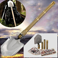 Tactical Military Army Entrenching Folding Survival Shovel Durable Spade Camping