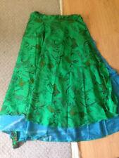 Unbranded Silk Regular Size Skirts for Women