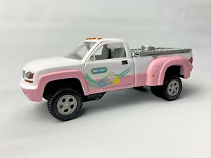 Breyer Horse Animal Creation Stablemate Pick-up Truck Pink White USED
