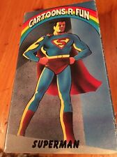 Cartoons R Fun Superman VHS