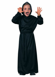 Child's Halloween Horror Robe Ghost Witch Wizard Grim Reaper Costume By Rubie's