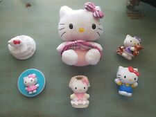 Lot 7  Hello Kitty Plush Watch Figures Sanrio