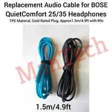 Cable De Audio Para BOSE QC25 QC35 BT SoundLink II SOUNDTRUE alrededor de la oreja los Auriculares