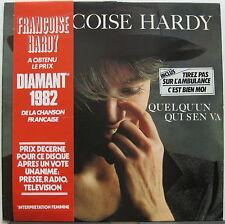 FRANCOISE HARDY Quelqu'Un Qui S'En Va 1982 FRANCE ORG LP Chanson MINTY!