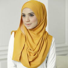 Ready to Ware Instant Hijab Printed Double Loop KAHEERAH Cotton Denim Islamic