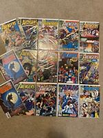 Lot of 14 Marvel Comics Avengers #287-312-322-323-325-331-332-336-337-345-351 ++