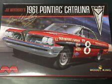 NEW MOEBIUS 1961 Pontiac Catalina JOE WEATHERLY Model Car Kit 1/25th Model KIng