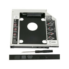12.7mm SATA 2nd SSD HDD Hard Drive Caddy for CD/DVD-ROM Optical Bays GS