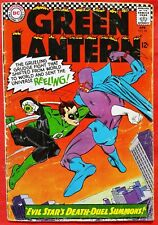 Green Lantern 44 DC Silver Age 1966 Gil Kane Art 2nd Silver Age app Evil Star