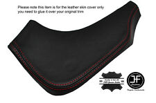 RED STICH 1X PASSENGER LOWER DASH TRIM LEATHER COVER FITS MAZDA RX7 FD3 92-02