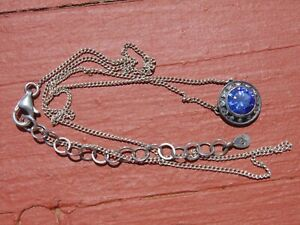 Silpada Sterling & Sapphire necklace
