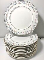 "11 PIECE LOT Vintage Sango Tivoli China 8305 Beach Theme Dinner Plates 10.5"""