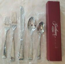 Gorham Column Stainless 5pc Place Setting Knife Spoons Forks NIB Korea