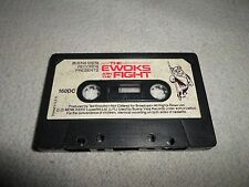 Tested ! The Ewoks Join Fight Cassette Tape for Story Book Read A Long Star Wars