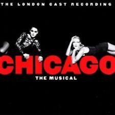 ORIGINAL CAST - CHICAGO,THE LONDON CAST RECORDING  CD 23 TRACKS MUSICAL  NEU