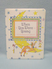 When You Were Young~2-in-1 Memory Scrapbook Baby Record Book Picture Photo Album