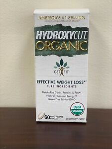 HYDROXYCUT ORAGNIC Effective Elite Weight Loss 60 Capsules BUY 2 GET 1 FREE