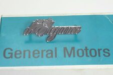 NOS Cadillac D'Elegance Ornament Emblem w pins 1970s GM Original OEM Chrome NEW