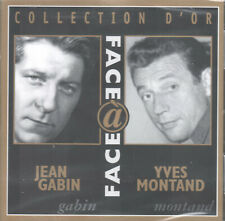 Collection D'Or by Jean Gabin & Yves Montand (2 CDs, 2005) Face a Face/32 Songs