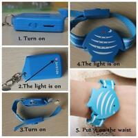 Pro Fish Wristband Anti-Lost Safety Alarm Device Monitor Child Pet Purse