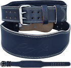 """RDX Weight Lifting Bodybuilding Back Support Training Fitness Leather Belt 4"""""""