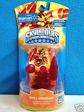 *NEW Skylanders Spyro's Adventure **CLEAR RED DRILL SERGEANT** Walmart Exclusive