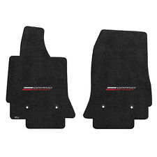 FOR CHEVROLET CORVETTE C7 2014-2017 Front Floor Mats JET GRAND SPORT LOGO 600300
