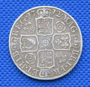 1712 Queen Anne Half Crown