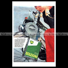 #phpb.000417 Photo SOLEXINE (VELOSOLEX) Advert Reprint